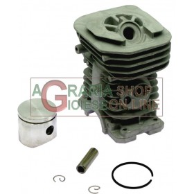 CYLINDER AND PISTON KIT FOR HUSQVARNA CHAINSAW 137 DIAM. 38 mm.