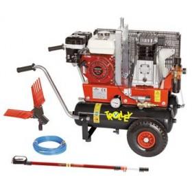 COMPLETE KIT FOR HONDA GX 160 ENGINE COMPRESSOR AND ABBACCHIATORE
