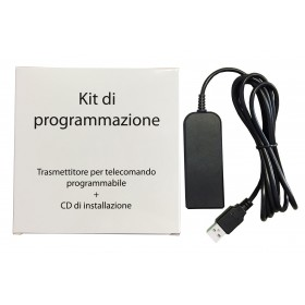 PROGRAMMING KIT FOR PROGRAMMABLE REMOTE CONTROL MOD. TECHNO 3