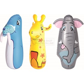 BESTWAY 52152 INFLATABLE PUNGIBALL IN THE SHAPE OF ANIMAL CM.91