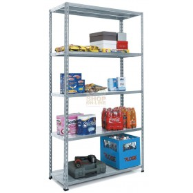5 SHELF SHELVES KIT (40X80) WITH ENTIRE RODS