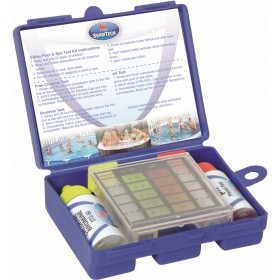 TEST KIT FOR SWIMMING POOLS AND SPA WITH CHLORINE AND PH