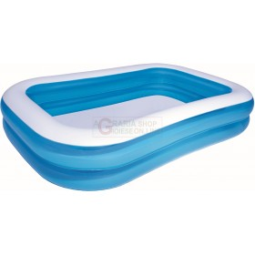 BESTWAY 54006 RECTANGULAR INFLATABLE POOL CM. 269x175x51h.