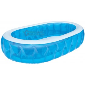 BESTWAY 54066B BLUE OVAL POOL CM 234x152x51h