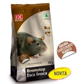 KOLLANT BROMOTOP TOPICIDA ESCA FRESCA PER TOPI AROMA CIOCCOLATO BIANCO GR. 500
