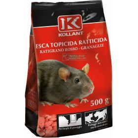 KOLLANT LURE POISON RACTICIDE RACTICIDE GRANULAR RED GR. 500