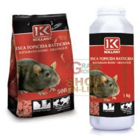 KOLLANT LURE POISON RACTICIDE RACTICIDE RED GRANULAR KG. 1