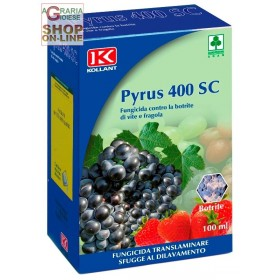 KOLLANT FUNGICIDE PYRUS 400 SC AGAINST THE BOTRITE OF VINE AND