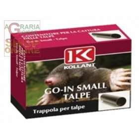 KOLLANT GO-IN SMALL TRAP FOR SMALL MOLES AND MICE