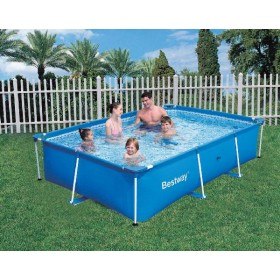 BESTWAY 56082 POOL WITH FRAME WITH PUMP CM.399X211X81h.