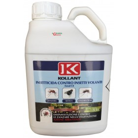 KOLLANT INSECTICIDE FOVAL CE AGAINST FLIES, MOSQUITOES AND TIGER MOSQUITOES LT. 5