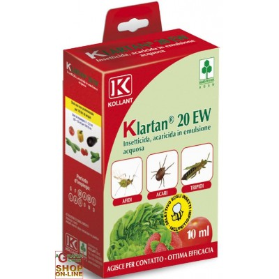 KOLLANT KLARTAN 20 EW ML. 10 TAU FLUVALINATE
