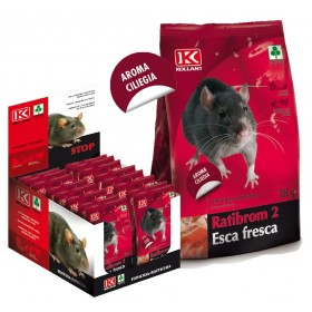 KOLLANT RATIBROM 2 LURE FRESH POISON POISON FOR MICE KG. 5