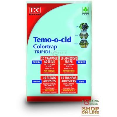 KOLLANT TEMOOCID TRIPID ADHESIVE TRAPS COLORTRAP PCS.10