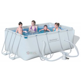BESTWAY 56248 SWIMMING POOL WITH FRAME PUMP FILTER CM. 287 x
