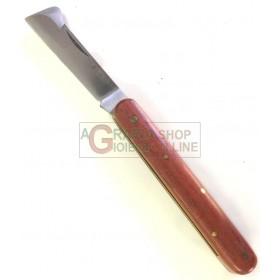 KUKER KNIFE FOR GRAFTING ORIGINAL WOODEN HANDLE