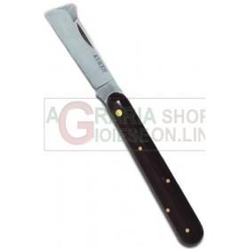 KUKER KNIFE FOR GRAFTING BLACK HANDLE IN LARGE PLASTIC