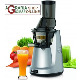 KUVINGS JUICE EXTRACTOR WITH FILTER FOR CREAMY SMOOTHIES AND FILTER FOR ICE CREAM DESSERTS AND SORBETS MOD. B6000S