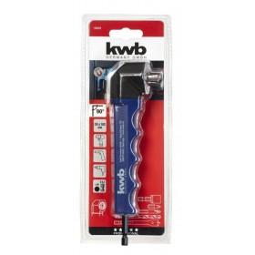 kwb Testa angolare a 90 per bit e punte