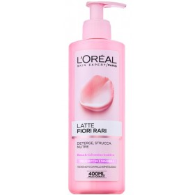 L'OREAL CLEANSING MILK RARE FLOWERS DRY AND SENSITIVE SKIN ml.