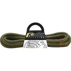 LACES FOR SHOES SKL CM 130 COLOR YELLOW BLACK PACK 10 PAIRS