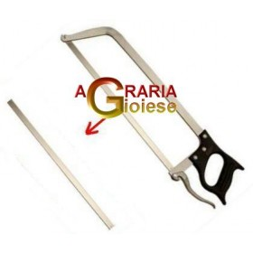SPARE BLADE FOR STAINLESS STEEL BUTCHER SAW WITH HOLE CM. 32