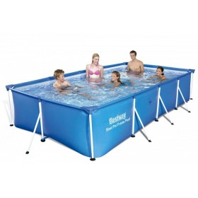 BESTWAY 56405 SWIMMING POOL WITH STEEL PRO FRAME CM.400x211x81h.