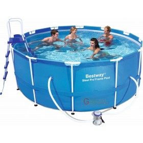 BESTWAY 56418 SELF-SUPPORTING POOL WITH FRAME CM. 366x100h