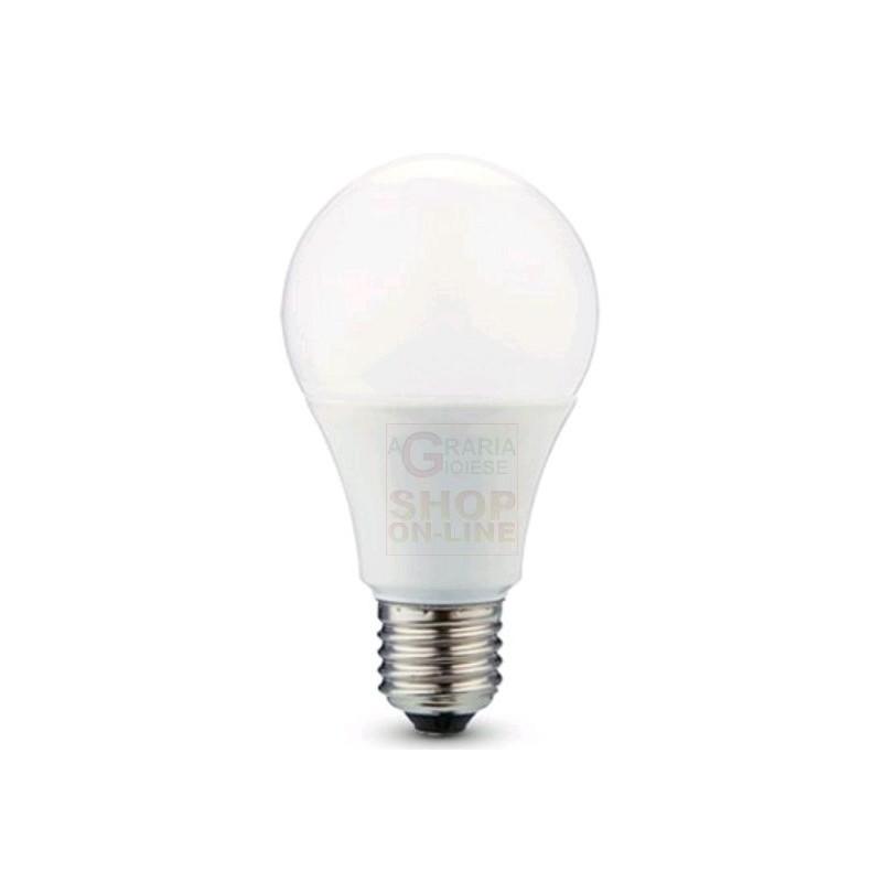 Lampada a led luce calda 10w e27 luce calda 800 lumen for Led luce calda