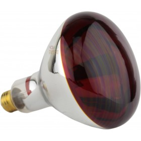 Red infrared lamp E27 Watt. 250 R127