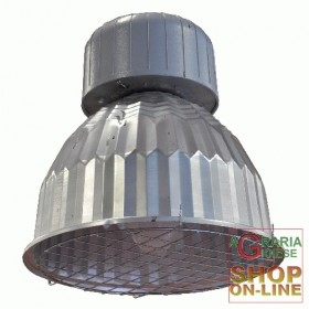 USED INDUSTRIAL CEILING REFLECTOR HALOGEN LAMP