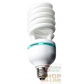 LAMPADA BASSO CONSUMO ENERGETICO SPIRALE GRANDE E27 WATT. 65