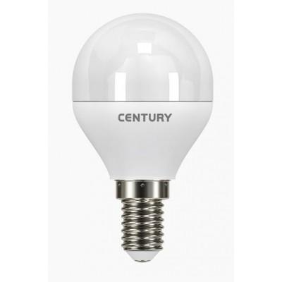 LAMPADA CLASSICA A LED LUCE CALDA E14 ECOLIGHT A SFERA WATT. 6