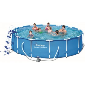 BESTWAY 56422 POOL WITH STEEL PRO FRAME CM.427x100h.