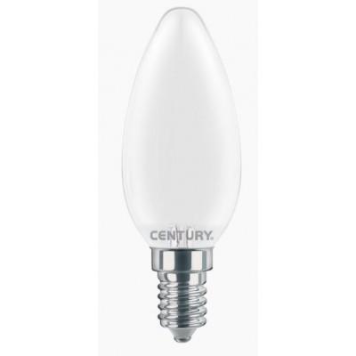 LAMPADA FILAMENTO LED INCANTO SATEN E14 A CANDELA WATT. 4