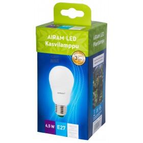 Drop Airam Finland led lamp E27 watt. 6.5 for plant growth
