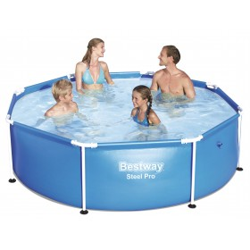 Bestway 56431 SWIMMING POOL WITH STEEL PRO FRAME CM. 244x61h.