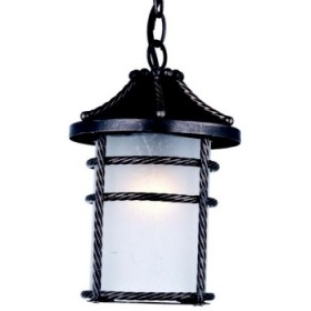 ANVERSA LANTERN WITH RUST COLOR CHAIN