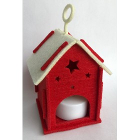 LANTERN HOUSE WITH SMALL TEALIGHT