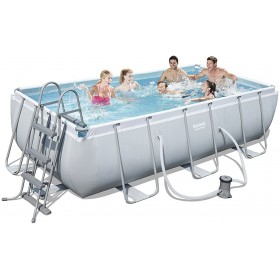 BESTWAY 56441 SWIMMING POOL WITH FRAME POWER STEEL FRAME CM. 404x201x100h