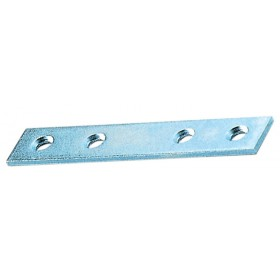 SHEETS WITH 4 STRAIGHT HOLES IN GALVANIZED STEEL CM. 6 PCS. 5
