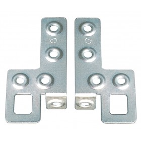 RIGHT / LEFT GALVANIZED PLATES FOR WALL UNITS PCS. 2