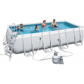 BESTWAY 56466 POOL WITH FULL FRAME CM. 549X274X122h.