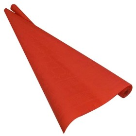 LE NAPPAGE DAMASK TABLECLOTH ROLL METERS 7x1 18 COLOR RED PARTY