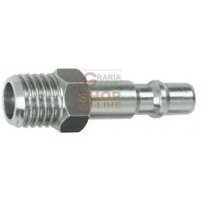 QUICK COUPLING ADAPTER FOR PRESSURE WASHER 1/4 INCH. MALE