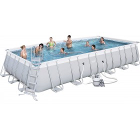 BESTWAY 56475 POOL WITH FULL FRAME CM. 732x366x132h.