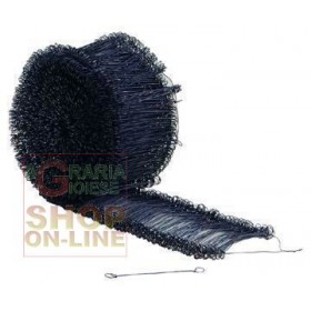 EYELET BINDERS BLACK IRON WIRE BUNCHES PCS. 2000 MM. 160