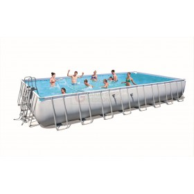 BESTWAY 56479 SWIMMING POOL WITH FRAME POWER STEEL FRAME CM. 1010x534x132h.