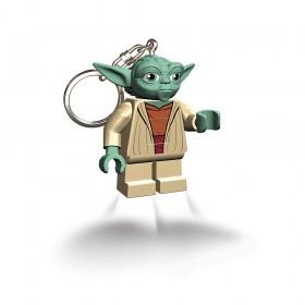 LEGO YOTA DI STAR WARS FORMATO TORCIA PORTACHIAVI CON CATENELLA