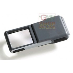 MAGNIFYING LENS WITH LED MM. 38 X 32 3 X 501238